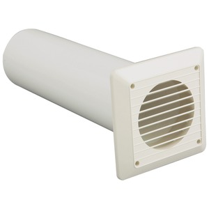 Newlec Wall White Venting Kit 150mm
