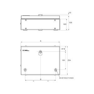 Memshield 3 15-Module DIN Rail Modular Enclosure 440 x 254 x 130mm