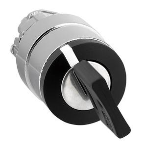 Schneider Harmony 2 Position Key Switch Left Withdrawal 22mm Black