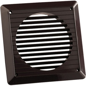 Newlec Exterior Brown Wall Grille 100mm