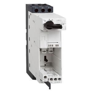 Schneider TeSys 3 Pole 12A Power Base 1NO + 1NC Screw Clamps Control