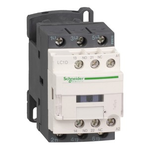 Schneider TeSys D 12A Contactor 3NO 24V AC Coil with Protective Cover