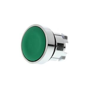 Schneider Harmony Flush Unmarked Push Button Head Metal 22mm Green