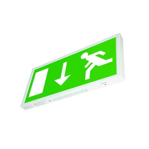 Newlec Euro Legend Arrow Down with LED Wall Exit Sign IP20 5W 3hr