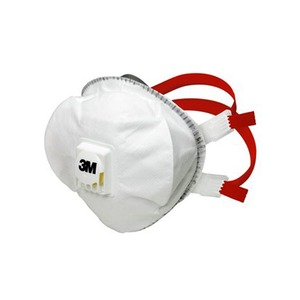 Valved Premium Buckle Strap Respirator White