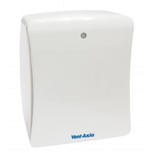 Vent-Axia Solo Plus 10.9W 24dBA Bathroom & Toilet Ventilation 240V 224 x 263 x 161mm White