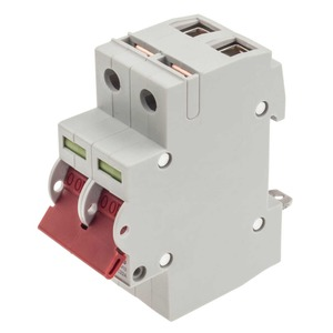 Crabtree Starbreaker Tap-Off Terminal Main Switch Disconnector 2-Pole 2-Module 100A