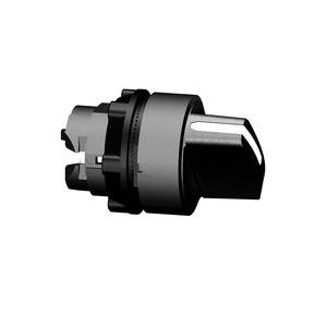 Schneider Harmony 3 Position Selector Switch Head Stay Put Plastic 22mm Black