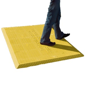 Large Trenchpro Trench Cover 1600 x 1200mm Yellow