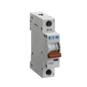 Eaton 1-Pole 6A Miniature Circuit Breaker 10/15kA 18 x 80 x 75mm