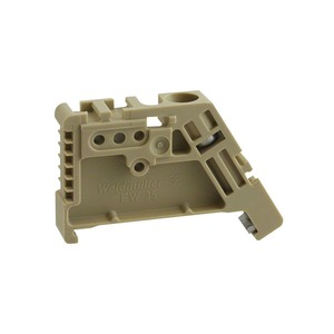 Weidmüller SAK Polyamide End Bracket 22.5mm Beige
