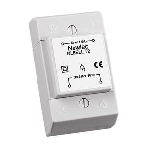 Newlec Surface Bell Transformer 8V 1A