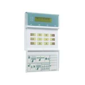 Cooper Safety 8-Zone Hardwired Intruded Alarm Panel with LCD Non Prox Keypad 245 x 235 x 90mm