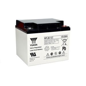 Yuasa 12V 38Ah Lead Acid Battery 197 x 165 x 170mm