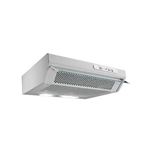 Vent-Axia Genova 230/240V 3-Speed Cooker Hood with Flip Front 600 x 150 x 470mm Silver