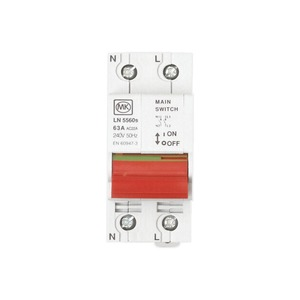 MK Electric Switch Disconnector 2-Pole 230V 63A