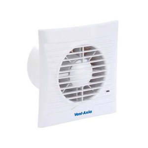 Axia Group Silhouette 100 14W 75m³/h Bathroom/Toilet Fan with Timer 147 x 86 x 65mm