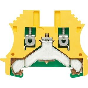 Weidmüller WPE Wemid PE Terminal Block 60 x 5.1 x 46.5mm Green/Yellow