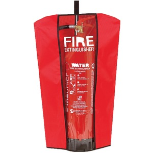 Large Fire Extinguisher Cover Red/Black
