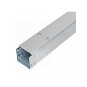 Salamandre 1-Compartment Pre-Galvanised Steel Distribution Trunking 3m x 100 x 100mm