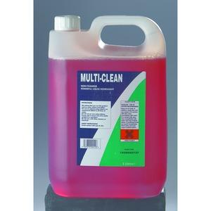 Multi-Clean Bottle 5 Litre Pink