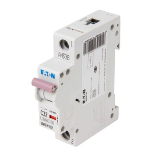 Eaton 1-Pole 32A Miniature Circuit Breaker 10/15kA 18 x 80 x 75mm