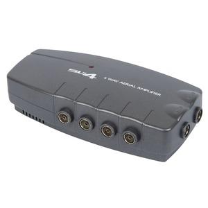 Philex SLx 460-790/30-300MHz 2-Input 4-Output 9/12dB Aerial Distribution Amplifier 178 x 85 x 46mm