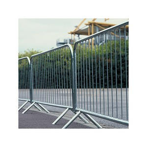 Fixed Leg Crowd Barrier 2.3 x 1.1m Galvanised Steel