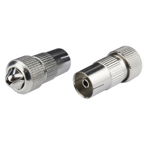 Philex Metal Coaxial Socket with spring claw 10 x 20 x 10mm