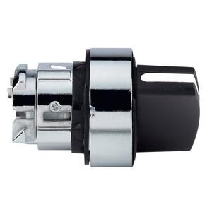 Schneider Harmony 2 Position Spring Return Selector Switch Head 22mm Black
