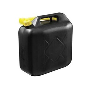 Plastic Diesel Fuel Can 20 Litre Black
