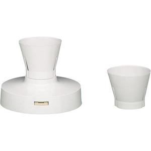 Crabtree Safety Batten Lamp Holder 92mm White