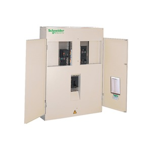 Schneider Powerpact-4 6-Way 3-Pole 630A Top Entry Panel Board 1178 x 850 x 260mm Cream