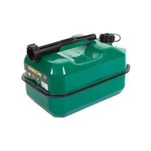 10 Litre Standard Fuel Can Metal Green