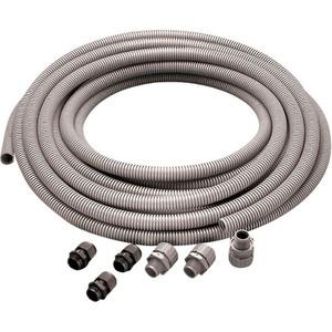 Newlec Flexible PVC Conduit Kit 20mm x 10m