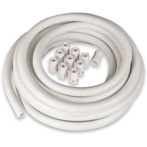 Newlec Flexible PVC Conduit Kit 20mm White