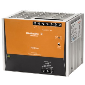 Weidmüller PROeco3 960W 40A Power Supply 24V AC/DC 160 x 125 x 120mm