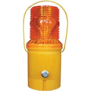 Ecolite 6V Flashing Lamp 203.5 x 93mm Orange/Yellow