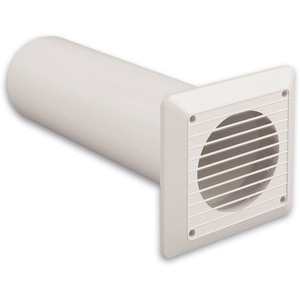 Newlec Wall Venting Kit 100mm White