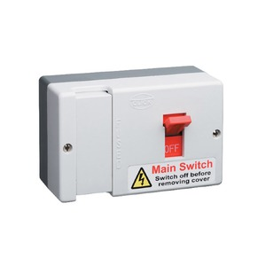 Scolmore Essentials HRC Fused Main Switch 80A