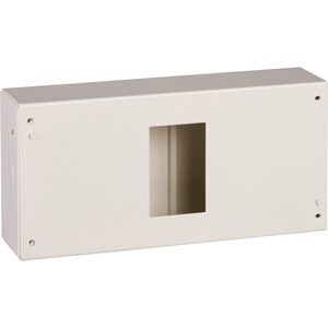 Schneider Steel Enclosure 4-Way 122.5 x 250 x 63mm Moonstone Beige