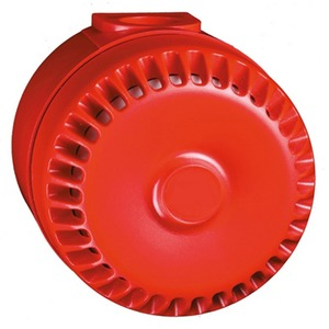 Cooper 105dB 32-Tone Safety Surface Sounder Red
