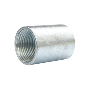 Galvanised Steel Solid Coupler 20mm