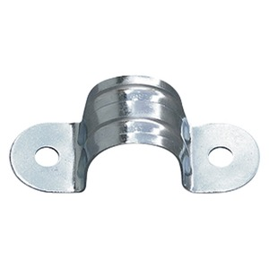 Bright Zinc Plated Pressed Steel Plain Saddle 32mm