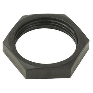LP Hex Locknut 32mm Black