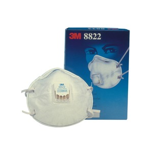 8000 Series FFP2 Valved Cup-Shaped Respirator White