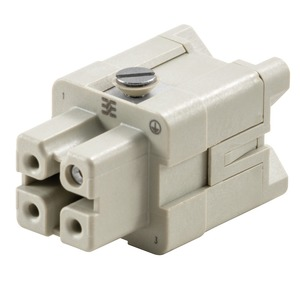 Weidmüller HDC HA 3 Pole M3 Female Insert Screw Connection 400V Size 1