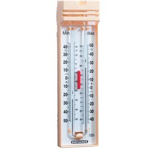-35 to 50°C/F Quick Set Max/Min Thermometer 205 x 55 x 27mm