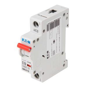 Eaton 1-Pole 10A Miniature Circuit Breaker 10/15kA 18 x 80 x 75mm