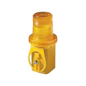 Flashing Unilamp Solar Cell Yellow
